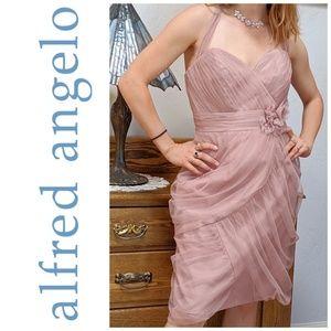 Alfred Angelo Modern Vintage Bridesmaid Dress 8600